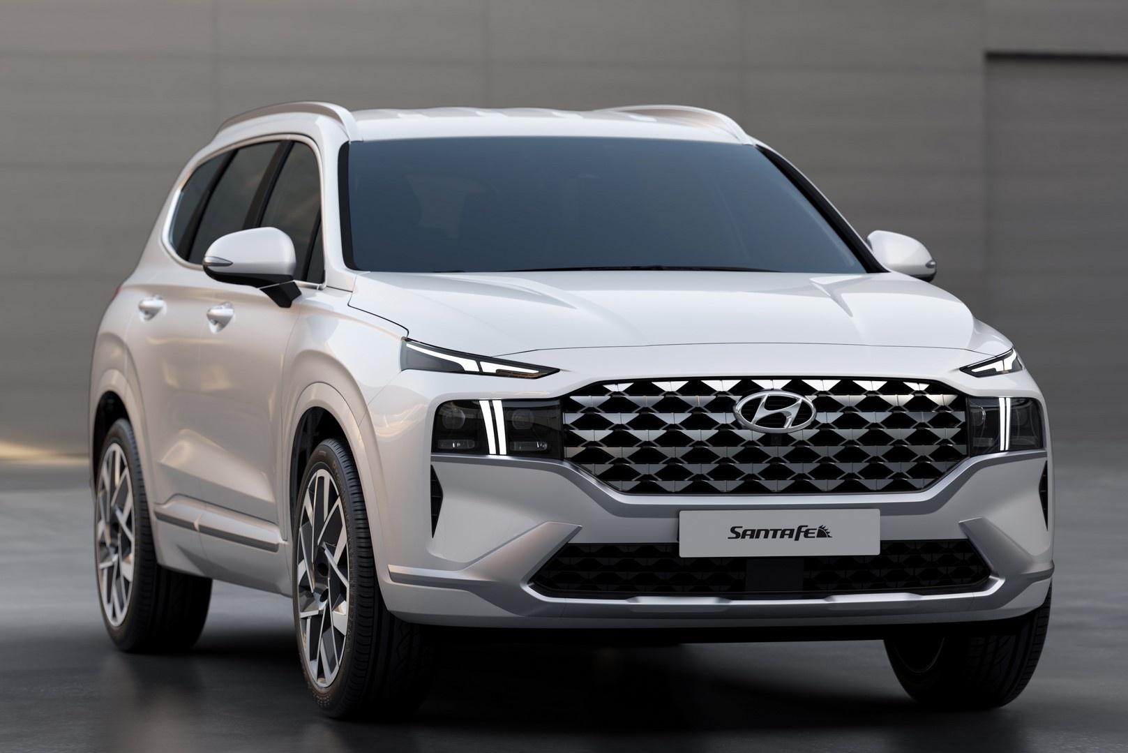 Kích thước Hyundai Santa-Fe mới 2021