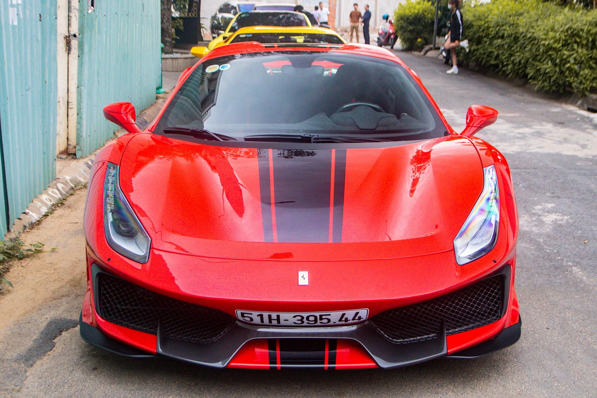 Ferrari 488 Pista Spider dau tien Viet Nam anh 6