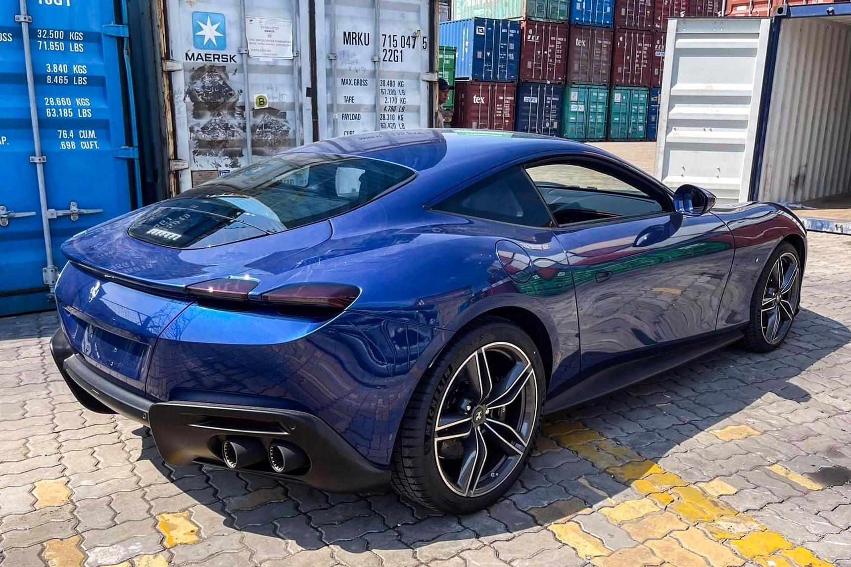 Ferrari Roma ve Viet Nam anh 3
