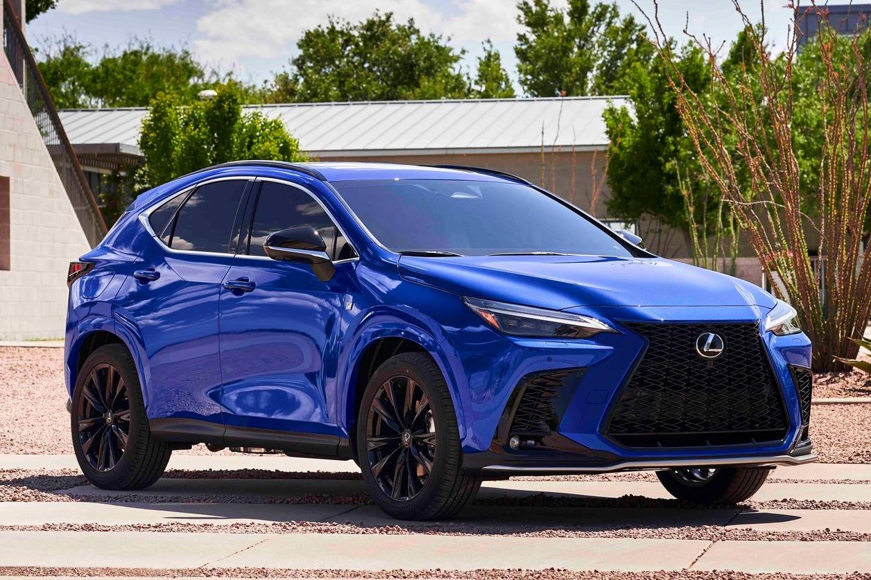 Lexus NX 2022 được ra mắt, thiết kế lột xác so với đời cũ