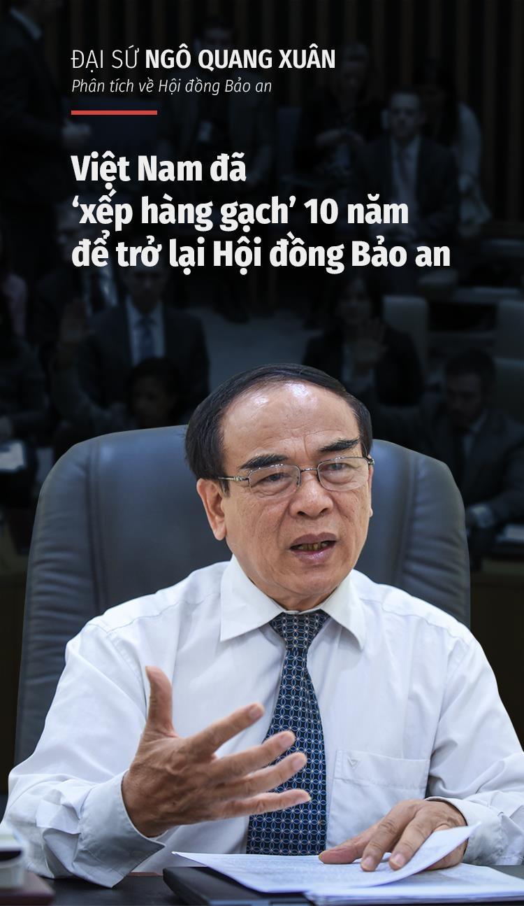 DS Ngo Quang Xuan: VN da van dong 10 nam de co ngay vao HDBA hom nay hinh anh 1