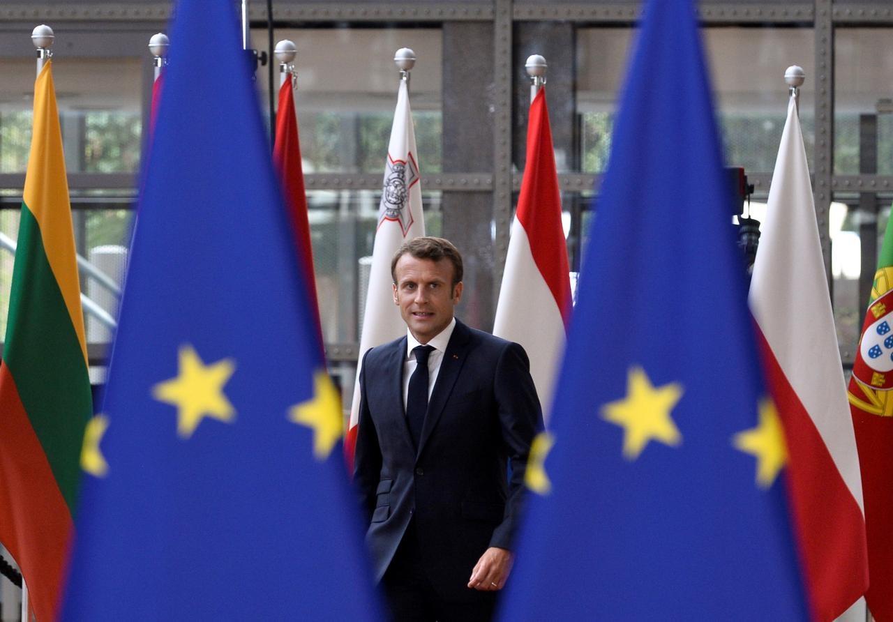 Bi kich mat phuong huong, bat dong giua dai dich cua EU o tuoi 70 hinh anh 2 download_Macron_Reuters.jpg
