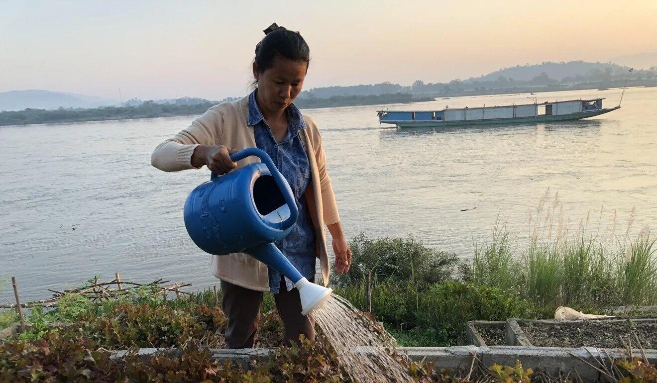 dap thuy dien Trung Quoc tren song Mekong anh 2