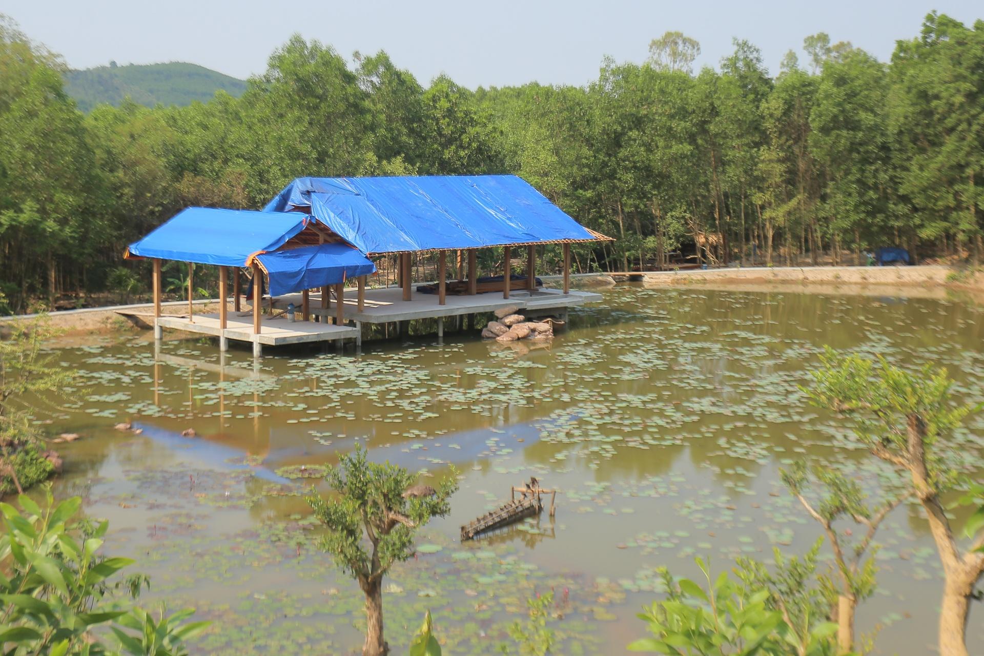 Khu nghỉ dưỡng xây dựng trái phép giữa rừng phòng hộ