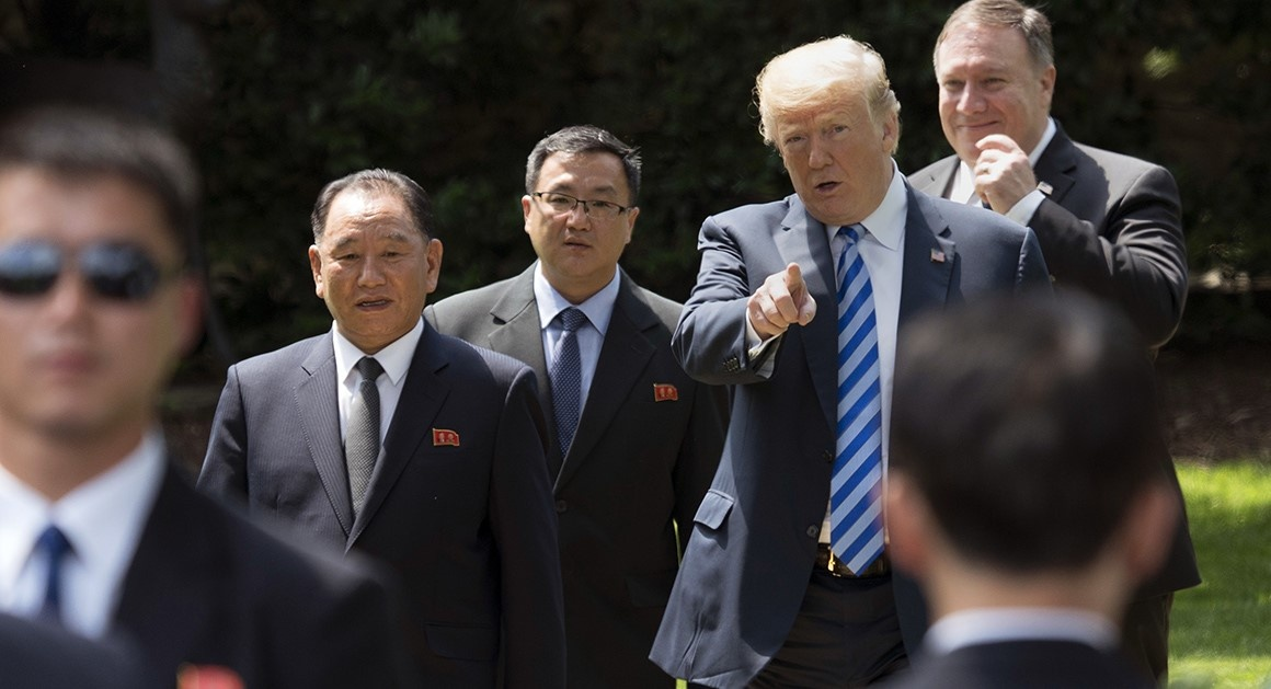 Trump gap Kim Jong Un Viet nam anh 5