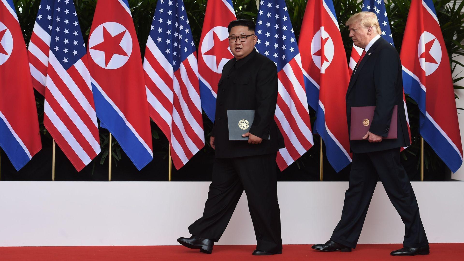Trump gap Kim Jong Un Viet nam anh 9