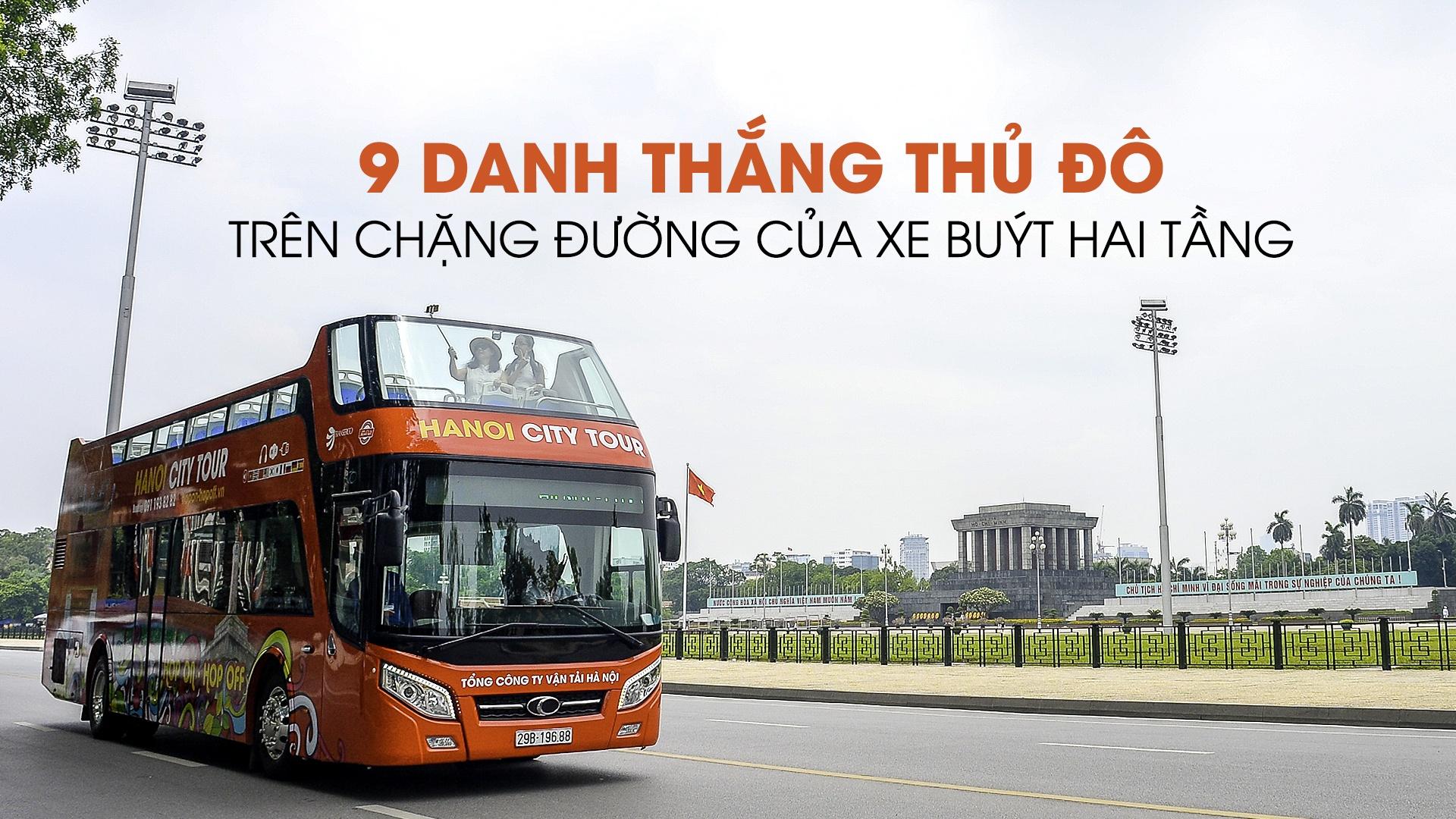 9 danh thang Ha Noi tren chang duong cua xe buyt hai tang hinh anh 1