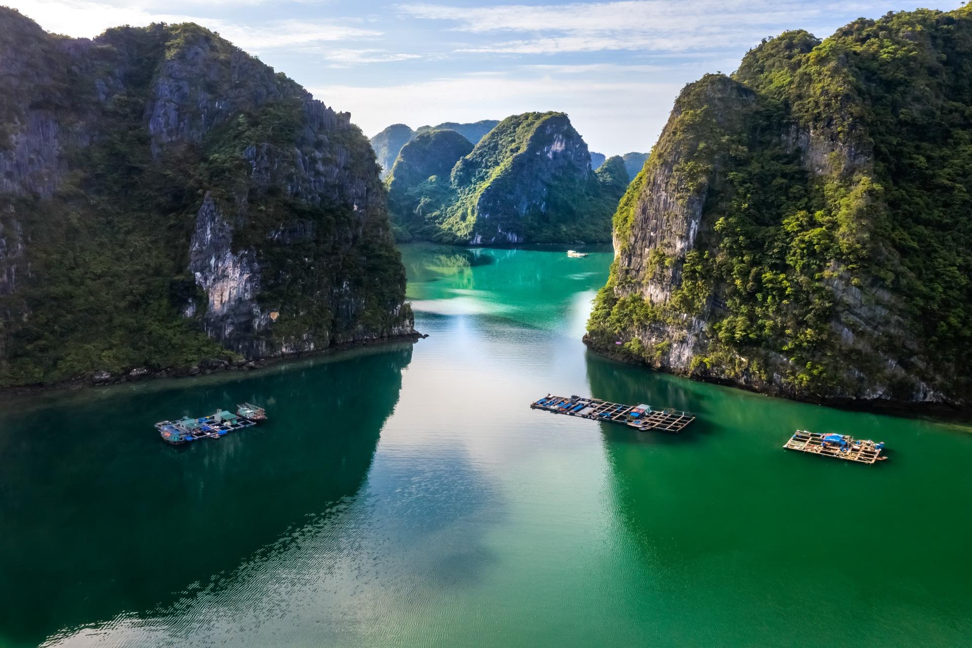 Nhung lang chai du lich o hai vinh dep nhat Quang Ninh hinh anh 9