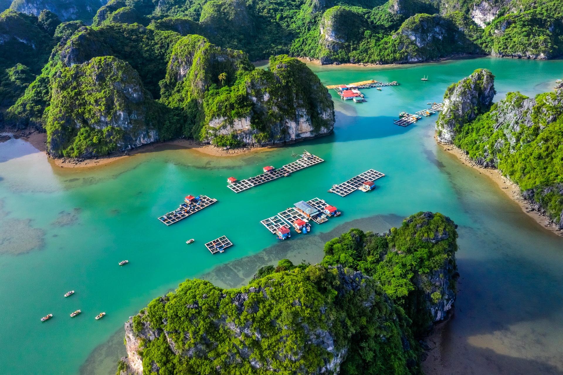 Những làng chài du lịch ở hai vịnh đẹp nhất Quảng Ninh