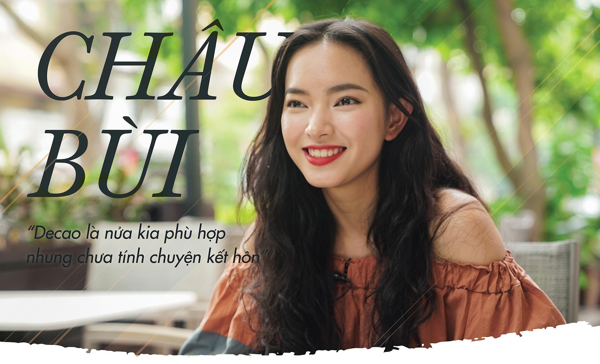 Hot girl Chau Bui: 'Rat yeu Decao nhung chua tinh chuyen ket hon' hinh anh 2