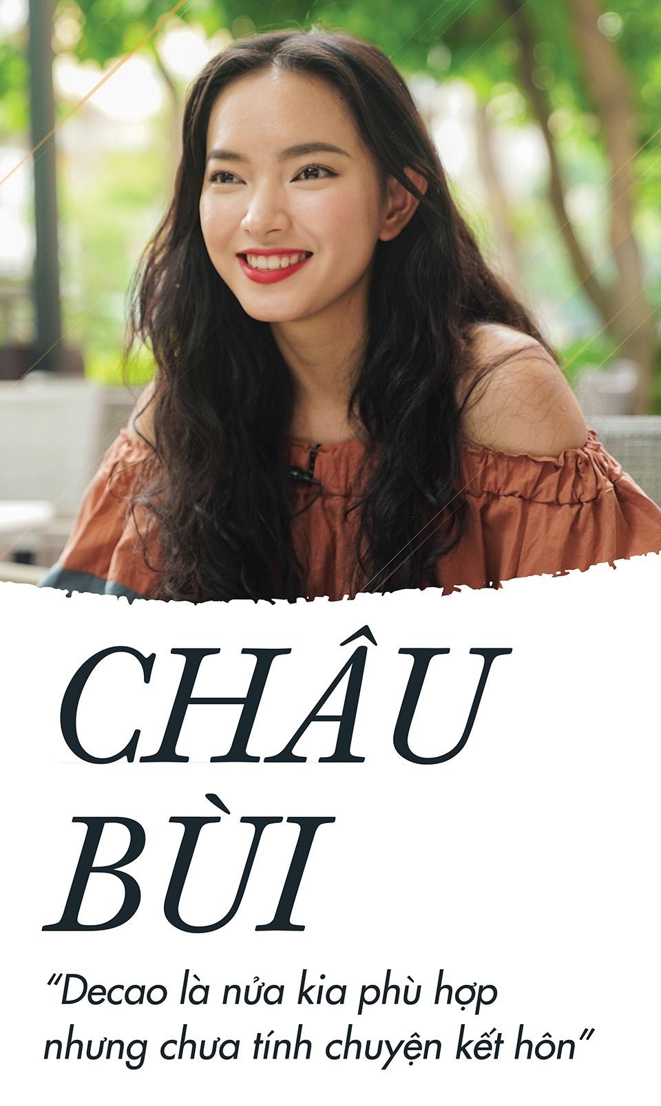 Hot girl Chau Bui: 'Rat yeu Decao nhung chua tinh chuyen ket hon' hinh anh 1