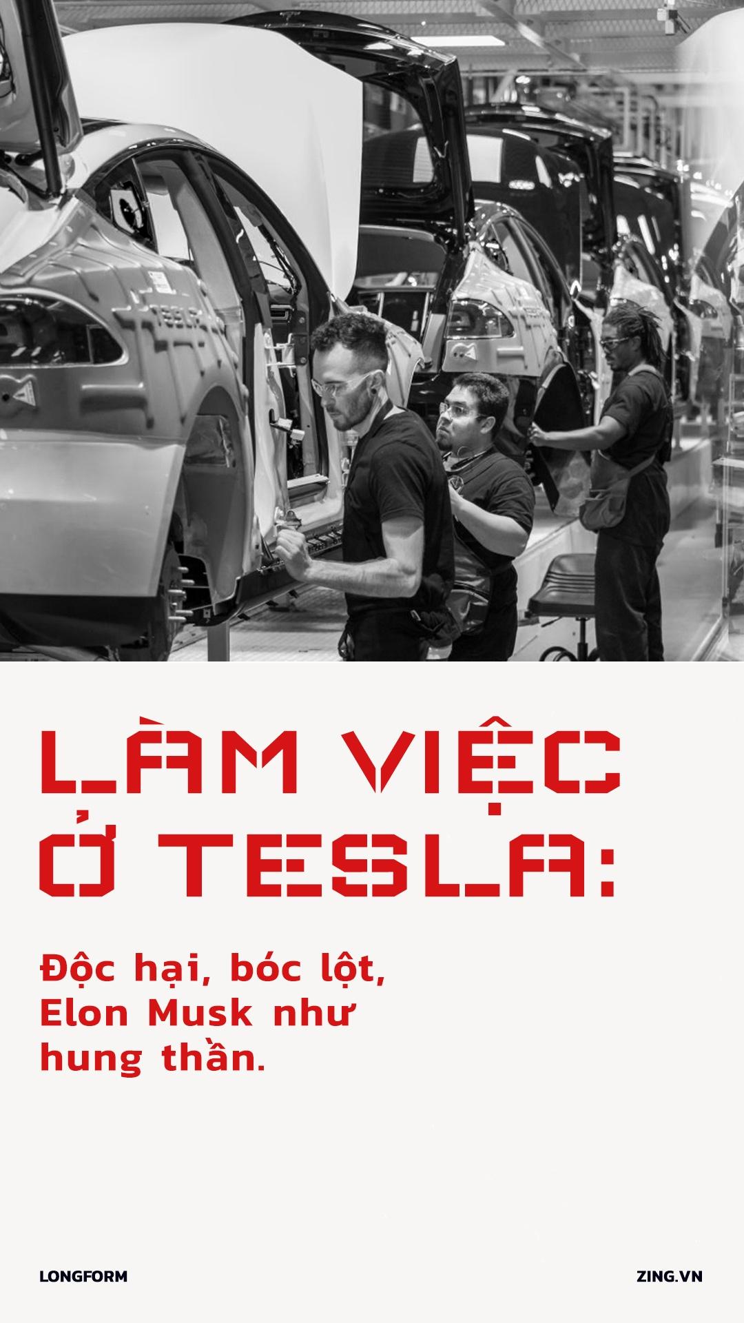 Lam viec o Tesla: Doc hai, boc lot, Elon Musk nhu hung than hinh anh 1