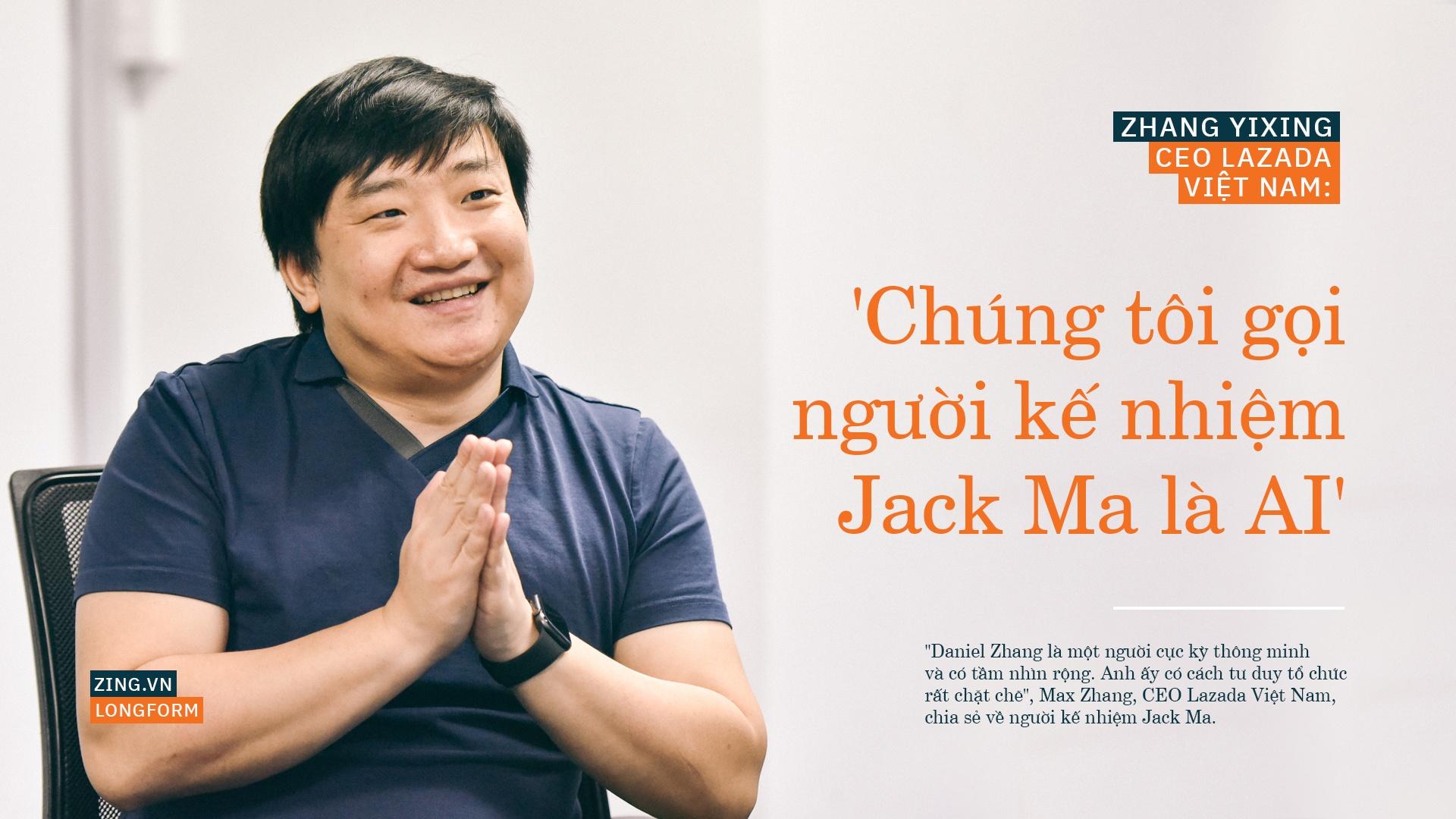 CEO Lazada Viet Nam: 'Chung toi goi nguoi ke nhiem Jack Ma la AI' hinh anh 2