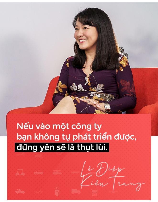 CEO Go-Viet Le Diep Kieu Trang: 'Toi tung lo ca gia dinh se ra duong' hinh anh 12