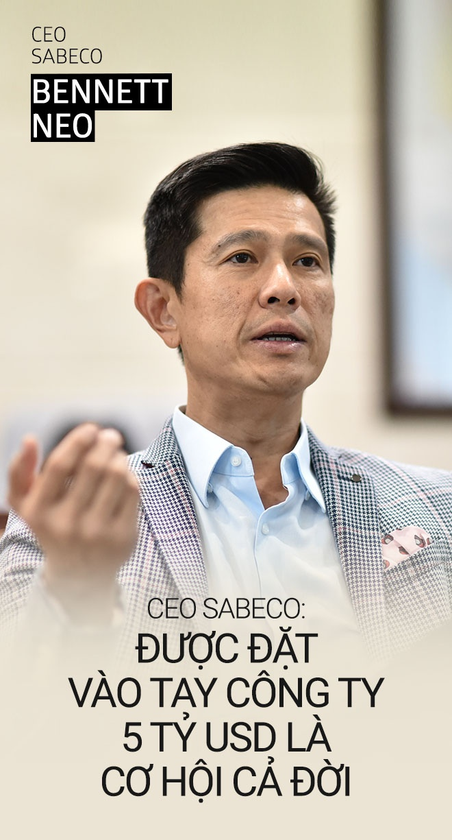 CEO Sabeco: 'Duoc dieu hanh cong ty 5 ty USD la co hoi ca doi' hinh anh 1