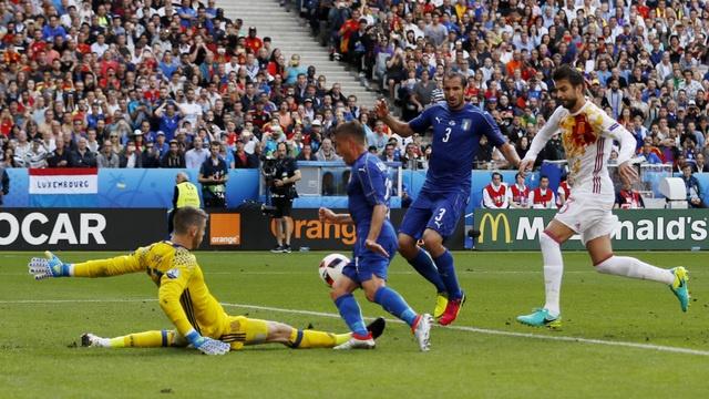 Italia vs Tay Ban Nha anh 9