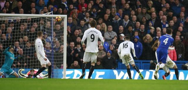 truc tiep Chelsea vs Swansea anh 20