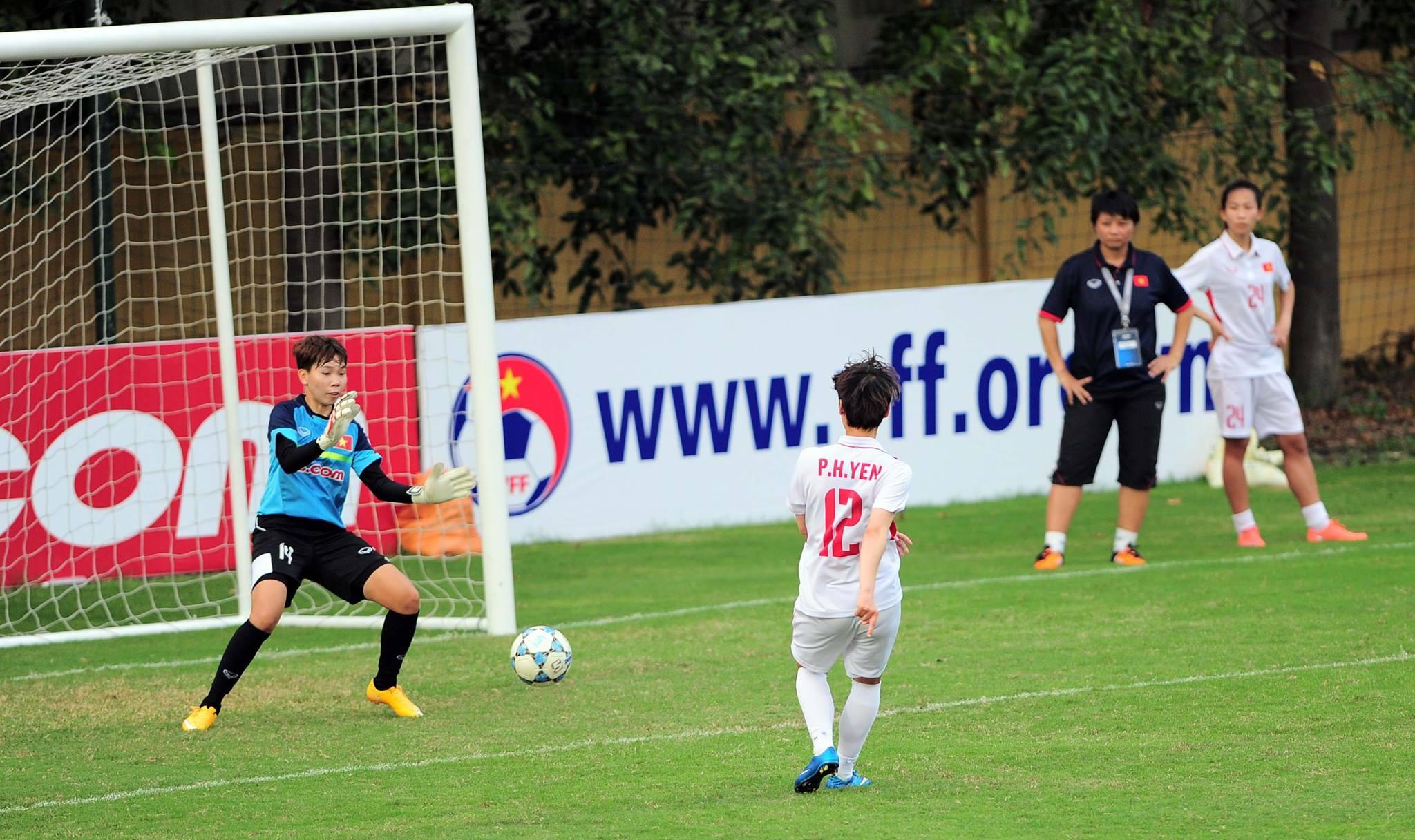Tuyen nu Viet Nam vs Myanmar anh 3