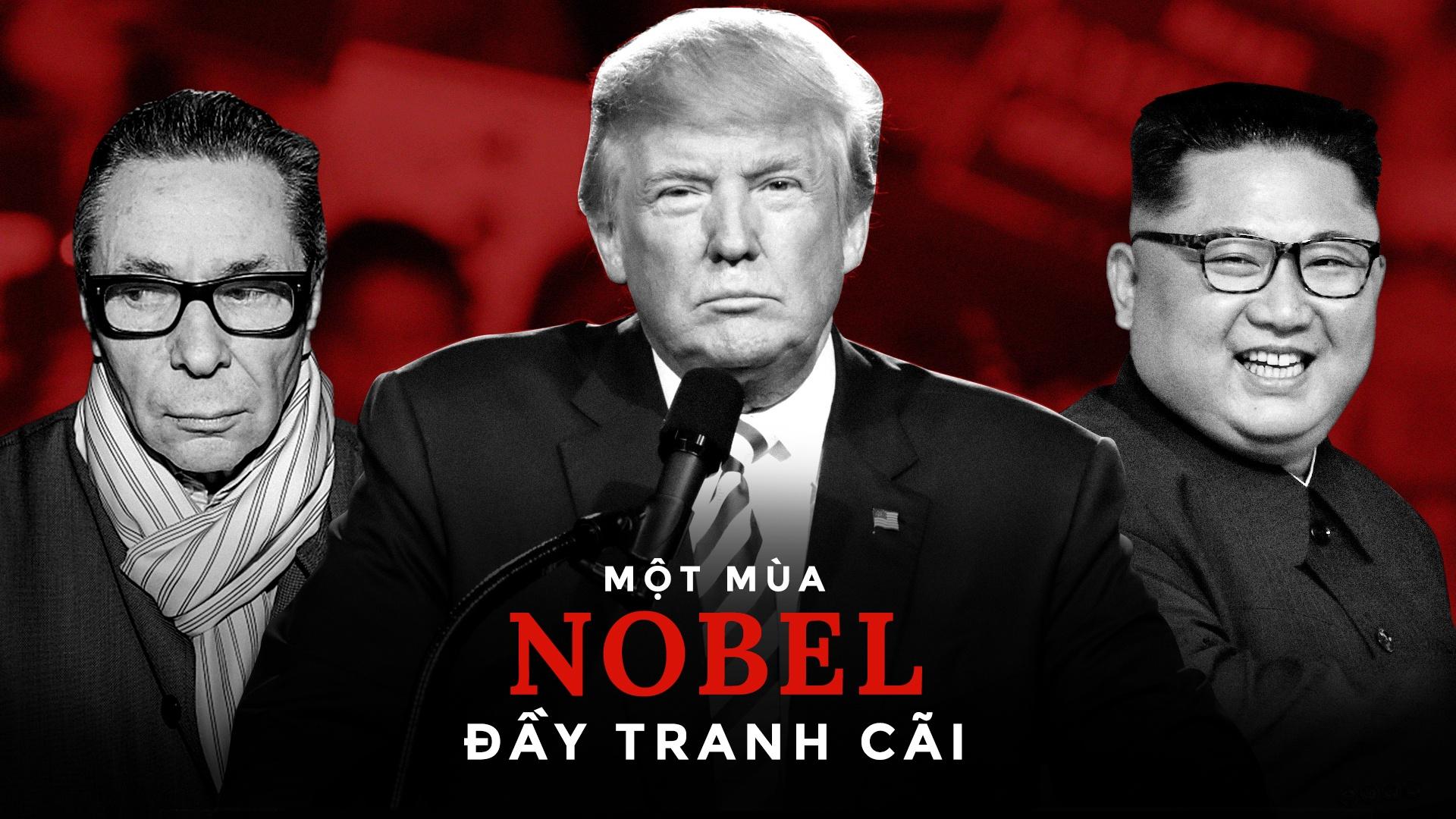 Mua Nobel tranh cai - Huy giai van hoc, TT Trump nhan Nobel Hoa binh? hinh anh 2