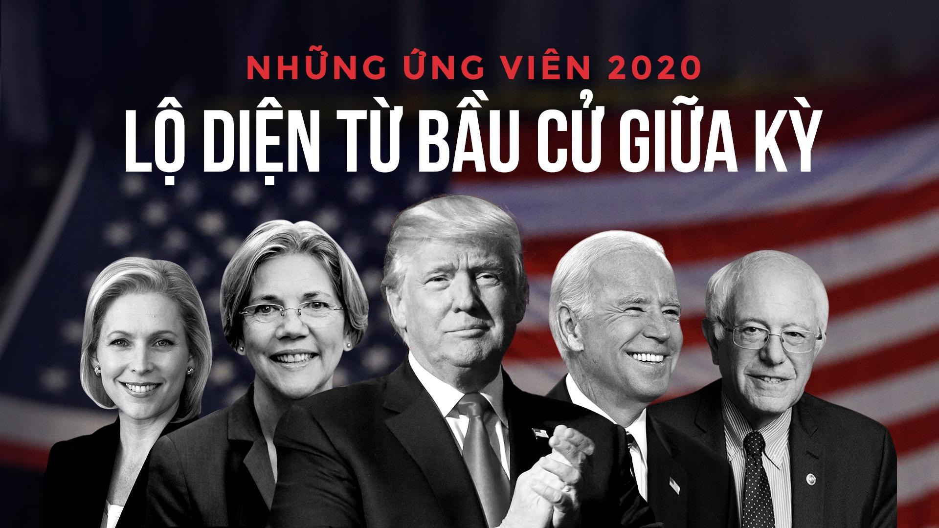 Nhung ung vien 2020 lo dien o bau cu giua ky My hinh anh 2