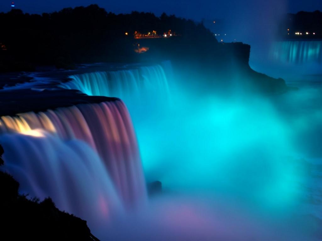 Man trinh dien den sac huyen ao o le hoi Anh sang thac Niagara hinh anh 5