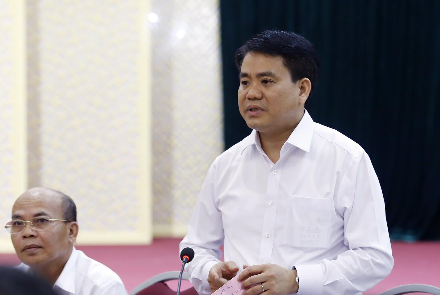 Chu tich Nguyen Duc Chung ve My Duc anh 2