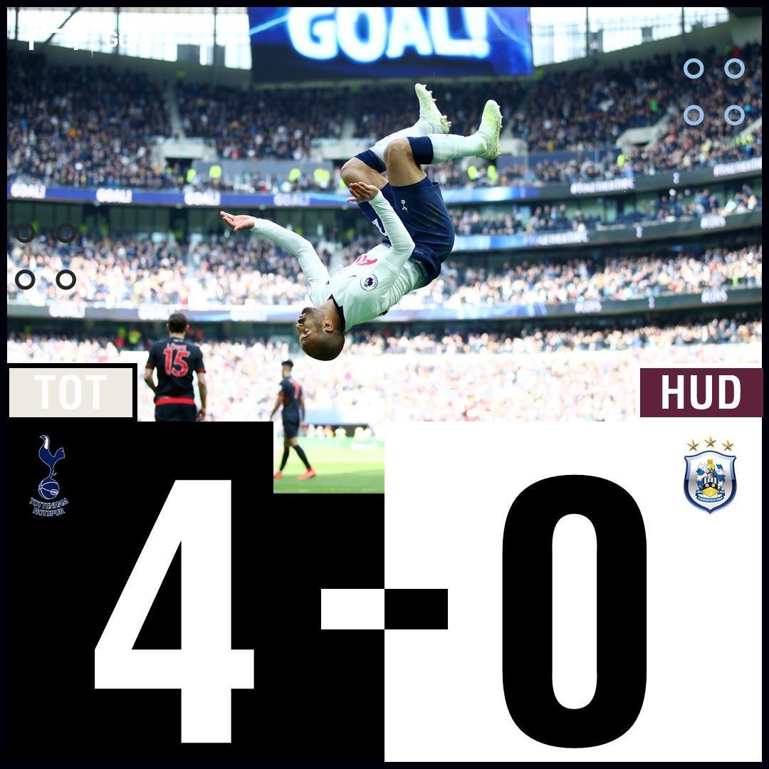 Tottenham vs Huddersfield anh 29