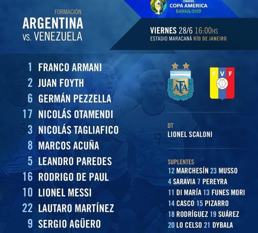 truc tiep Argentina vs Venezuela anh 5