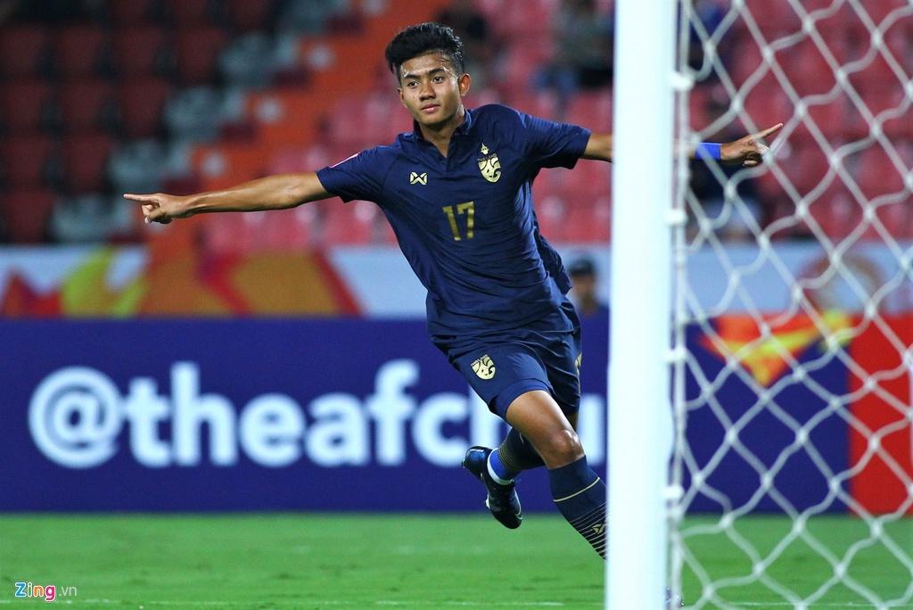 truc tiep U23 Thai Lan vs Iraq anh 4