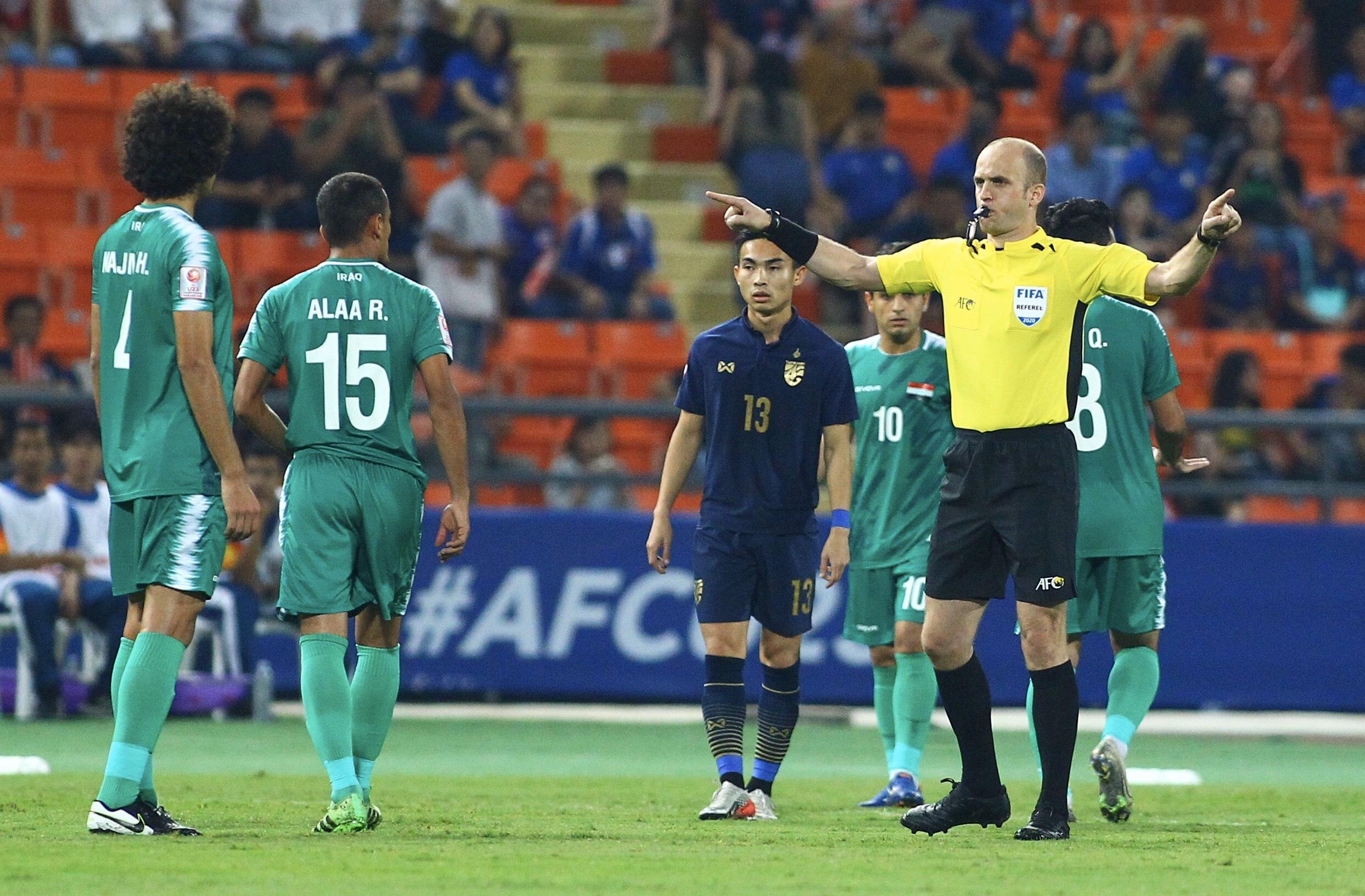 truc tiep U23 Thai Lan vs Iraq anh 14