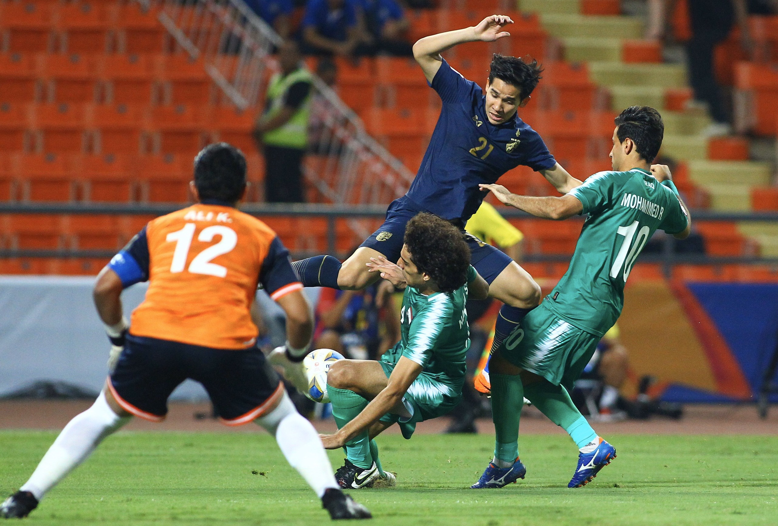 truc tiep U23 Thai Lan vs Iraq anh 13