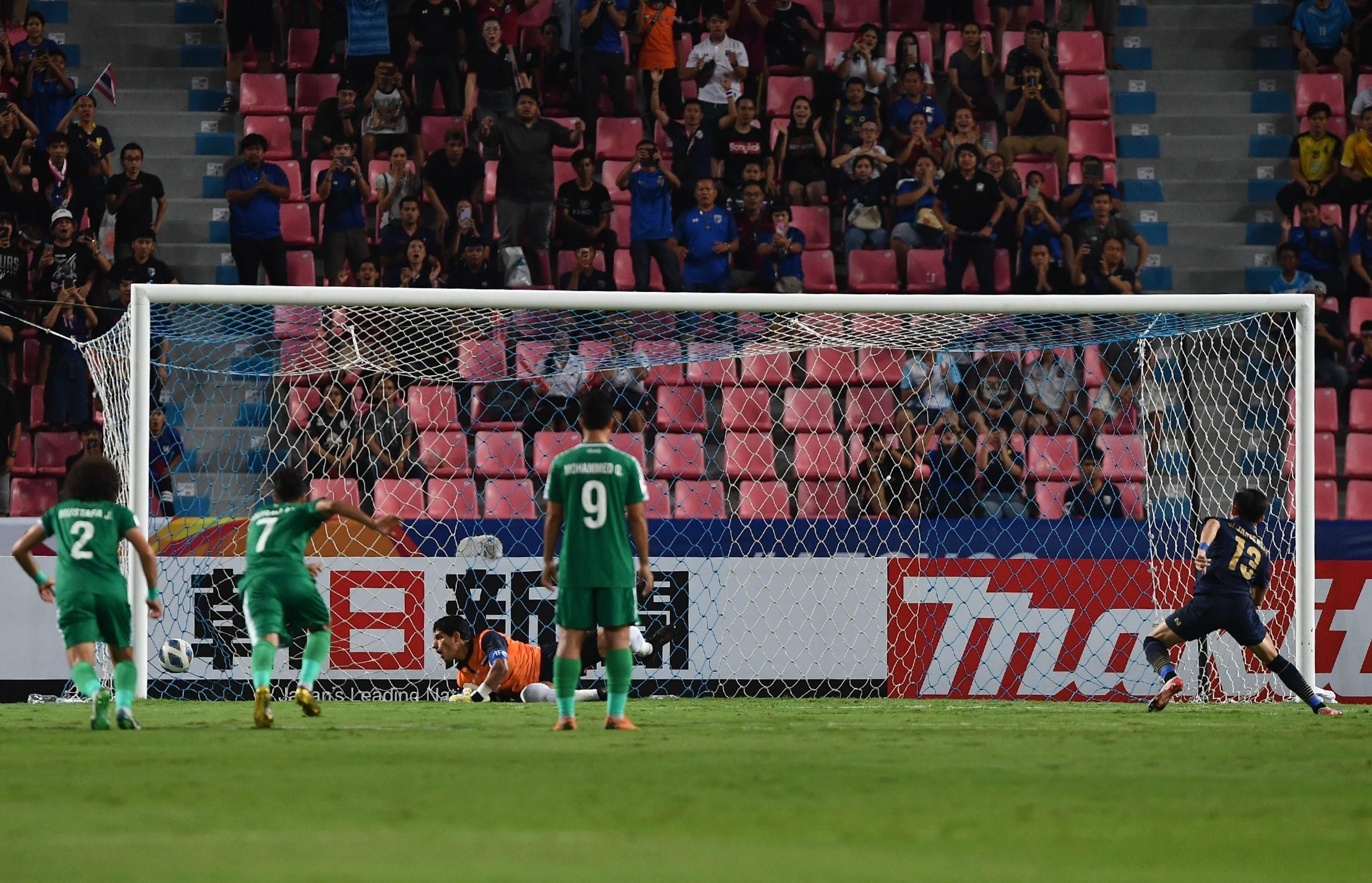 truc tiep U23 Thai Lan vs Iraq anh 15