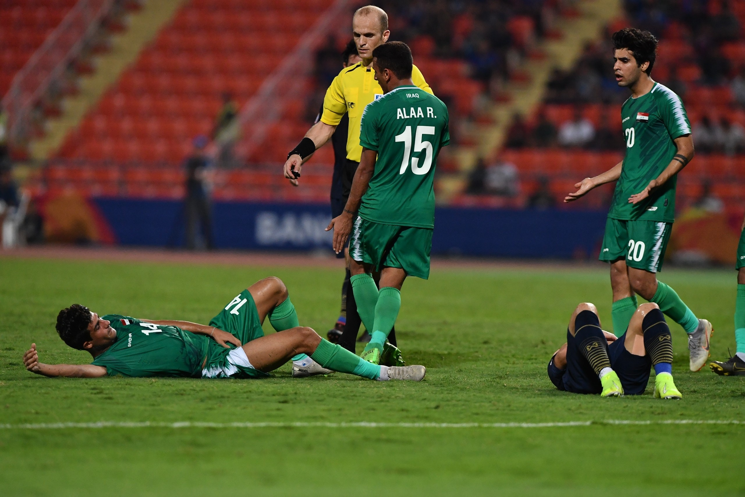 truc tiep U23 Thai Lan vs Iraq anh 25
