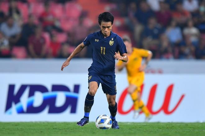 truc tiep U23 Thai Lan vs Iraq anh 6