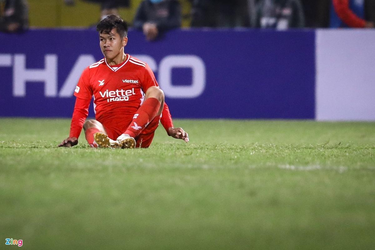 CLB Viettel vs Hai Phong anh 1