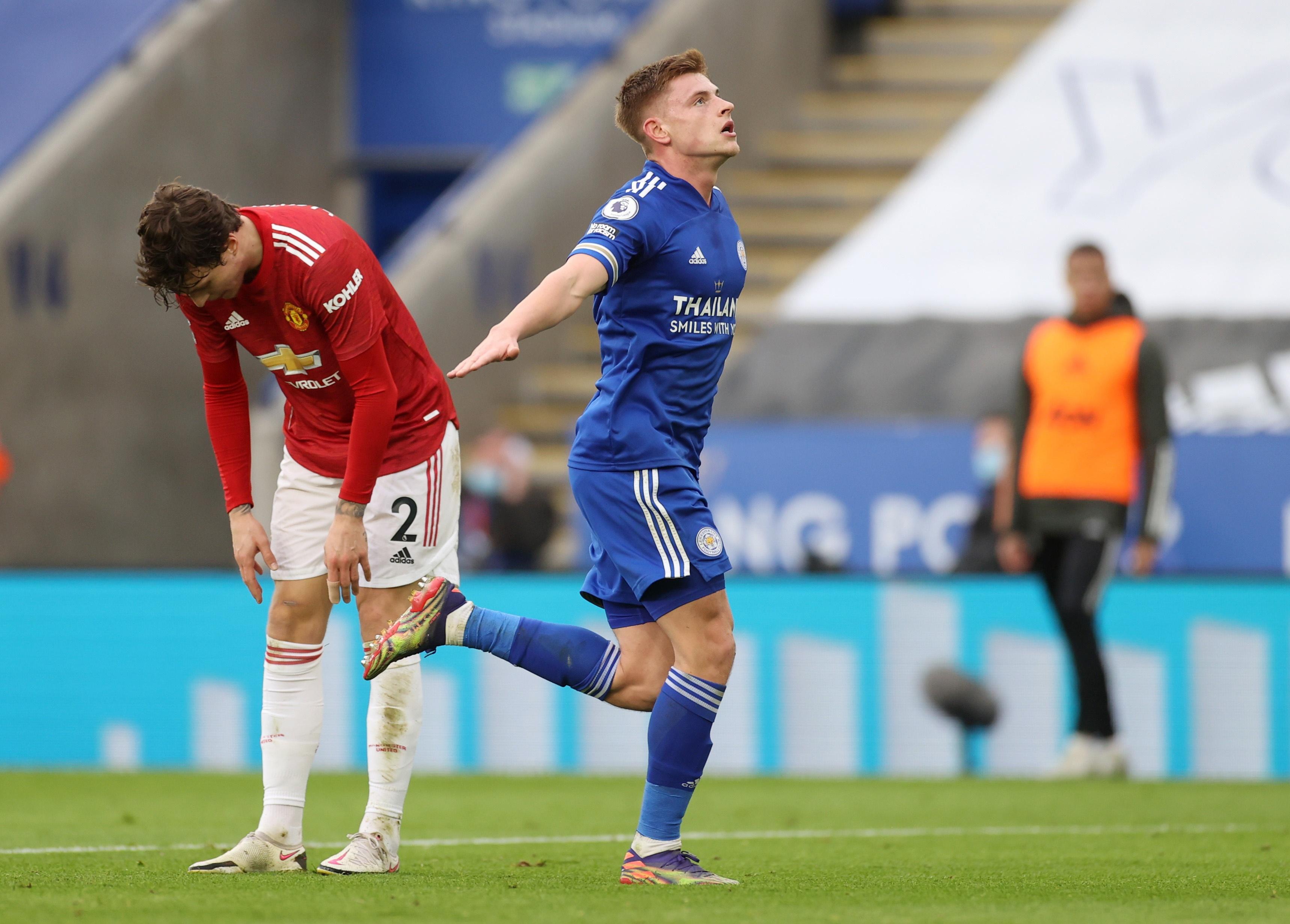 Leicester vs Man Utd anh 1