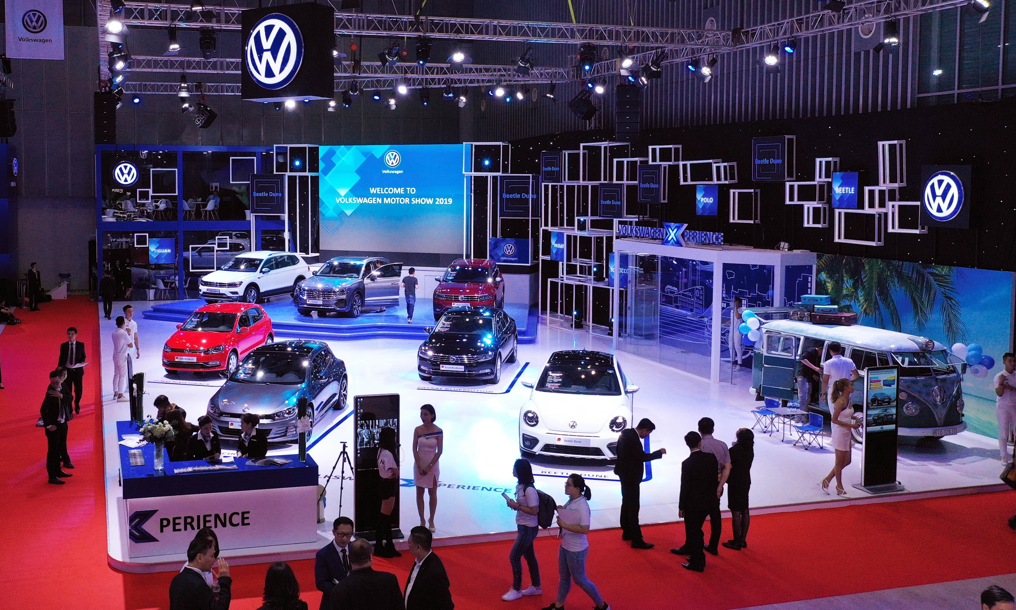 Volkswagen tai VMS 2019 - vang bong xe moi hinh anh 31