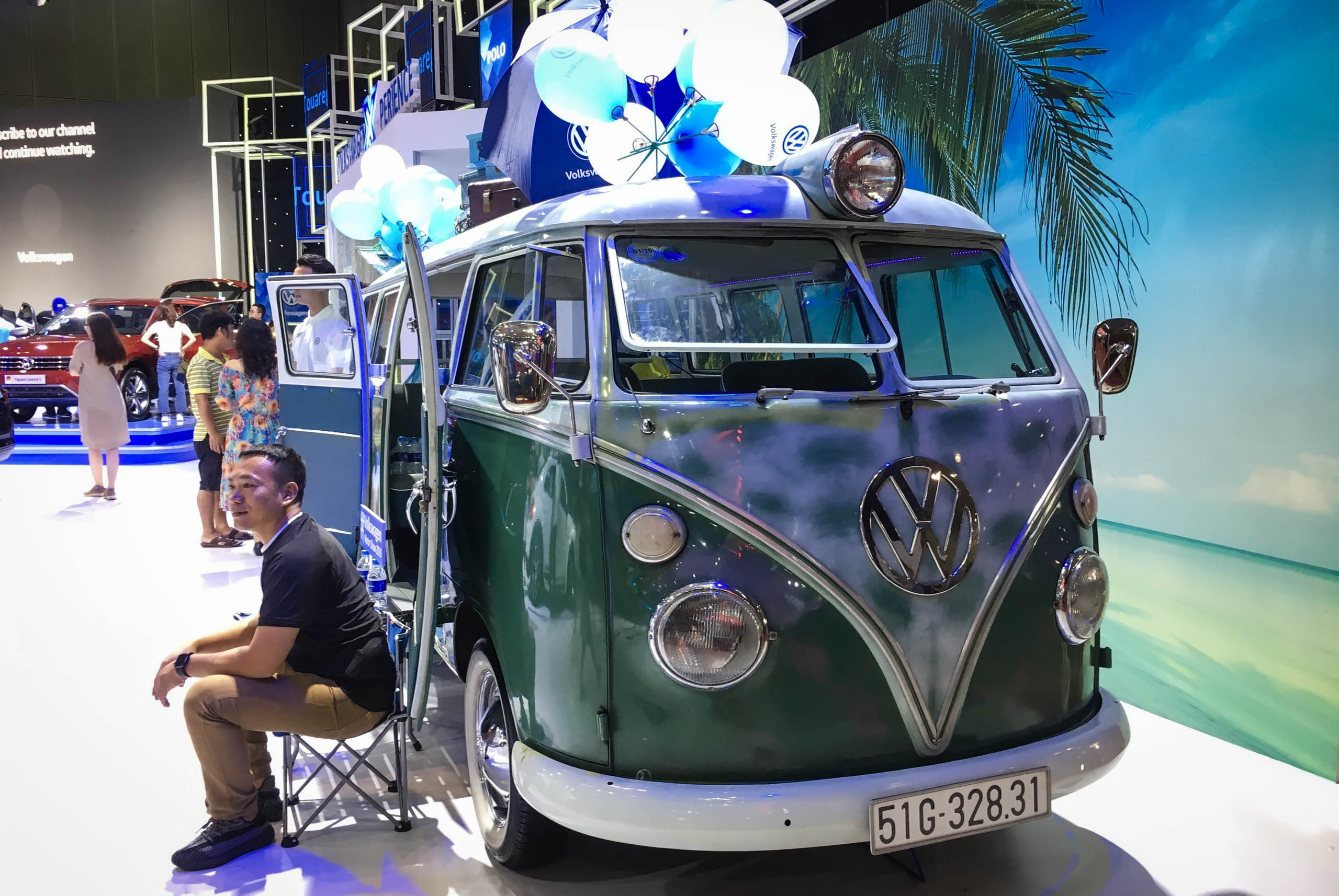 Volkswagen tai VMS 2019 - vang bong xe moi hinh anh 17