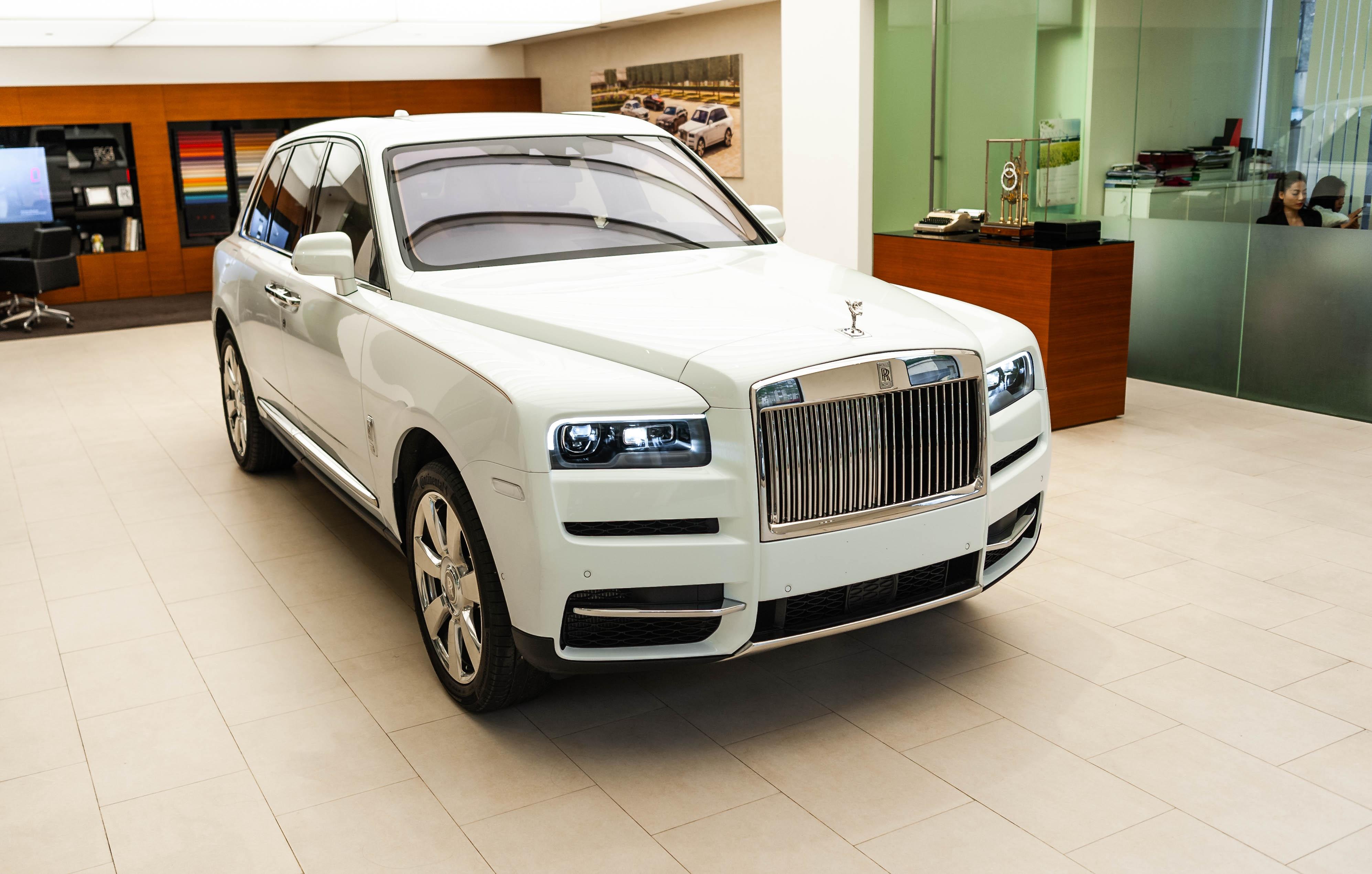 Chi tiet Rolls-Royce Cullinan chinh hang o VN anh 16