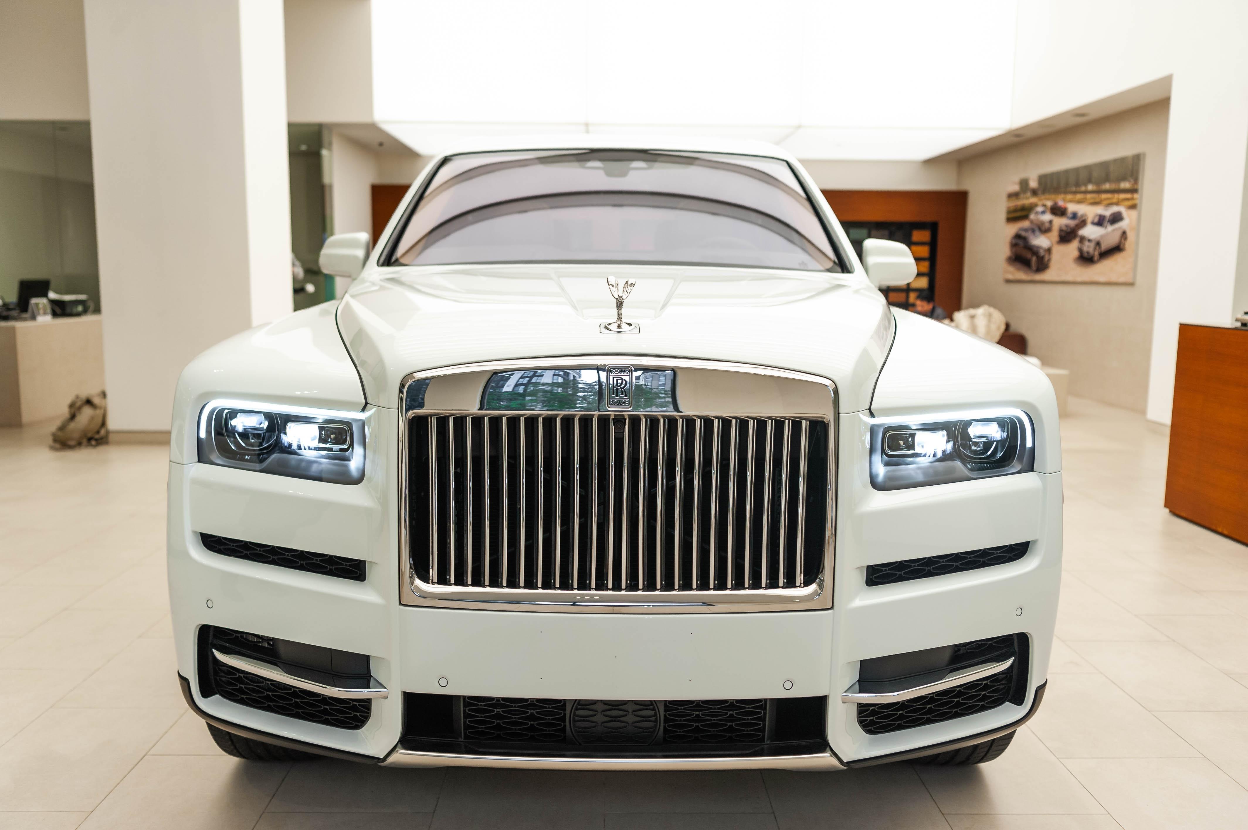 Chi tiet Rolls-Royce Cullinan chinh hang o VN anh 15