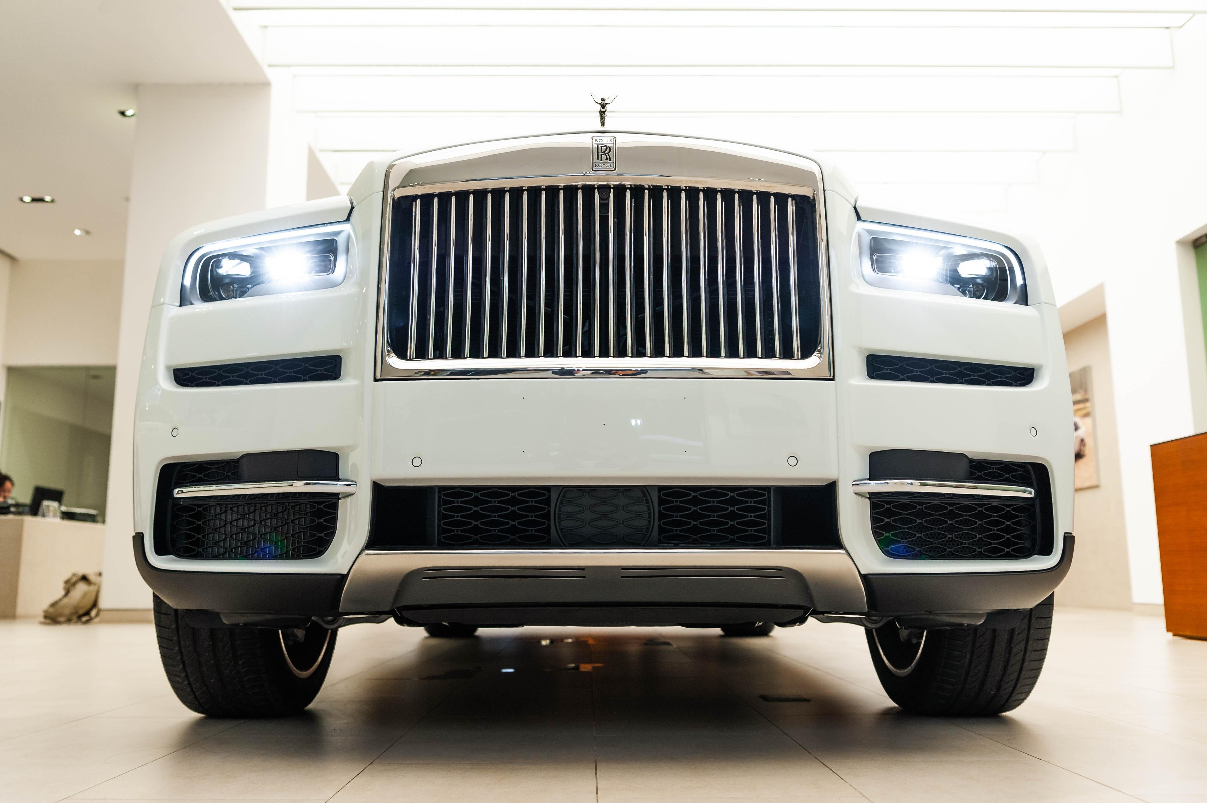 Chi tiet Rolls-Royce Cullinan chinh hang o VN anh 5