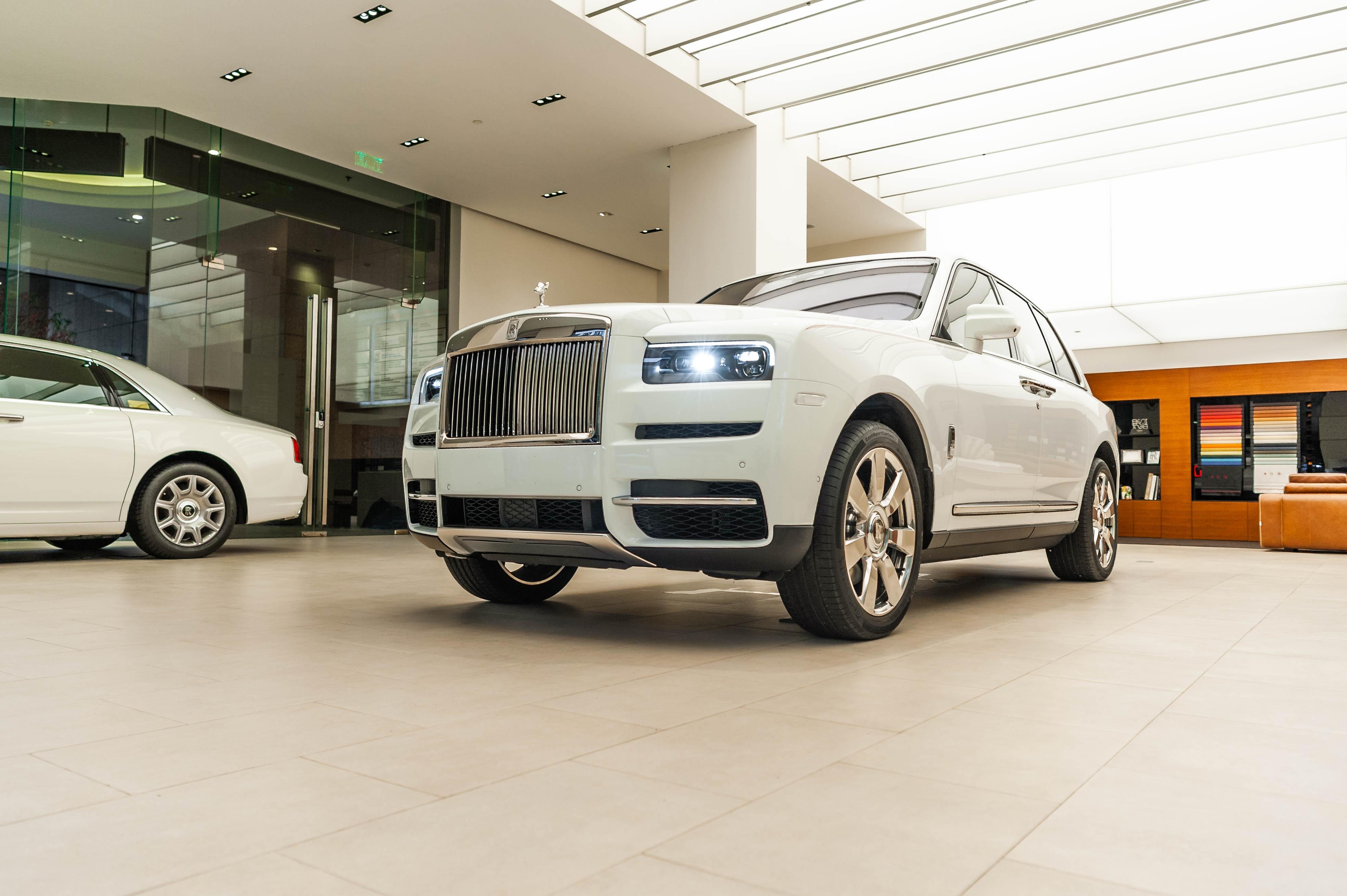 Chi tiet Rolls-Royce Cullinan chinh hang o VN anh 1