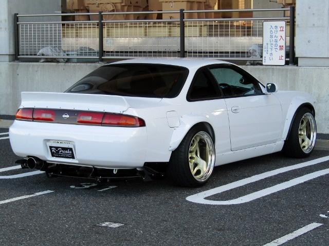 Nissan S14 Silvia do Rocket Bunny anh 5