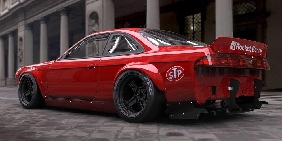 Nissan S14 Silvia do Rocket Bunny anh 12
