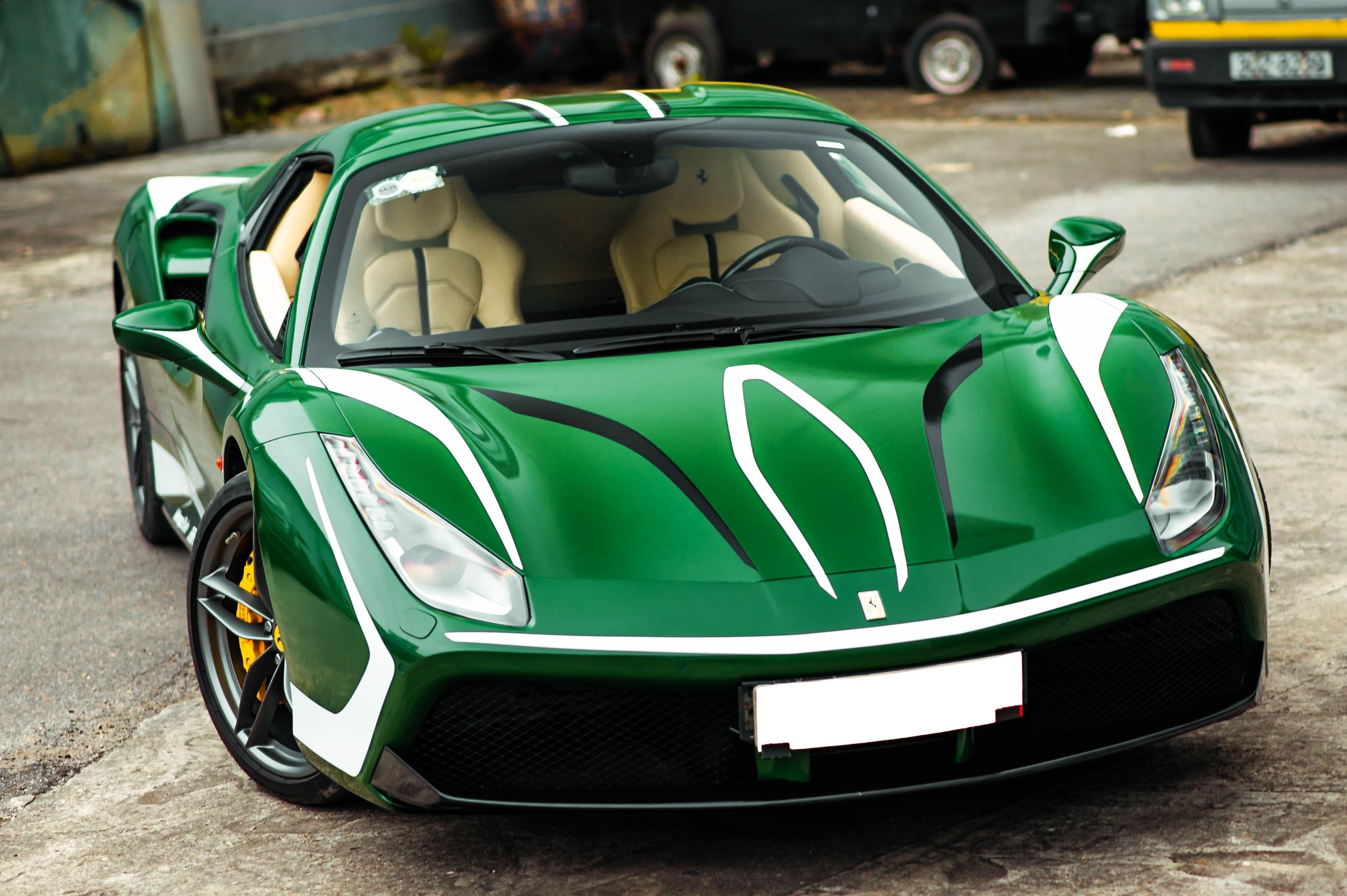 Ferrari 488 Spider dau tien VN thay doi ngoai hinh anh 24