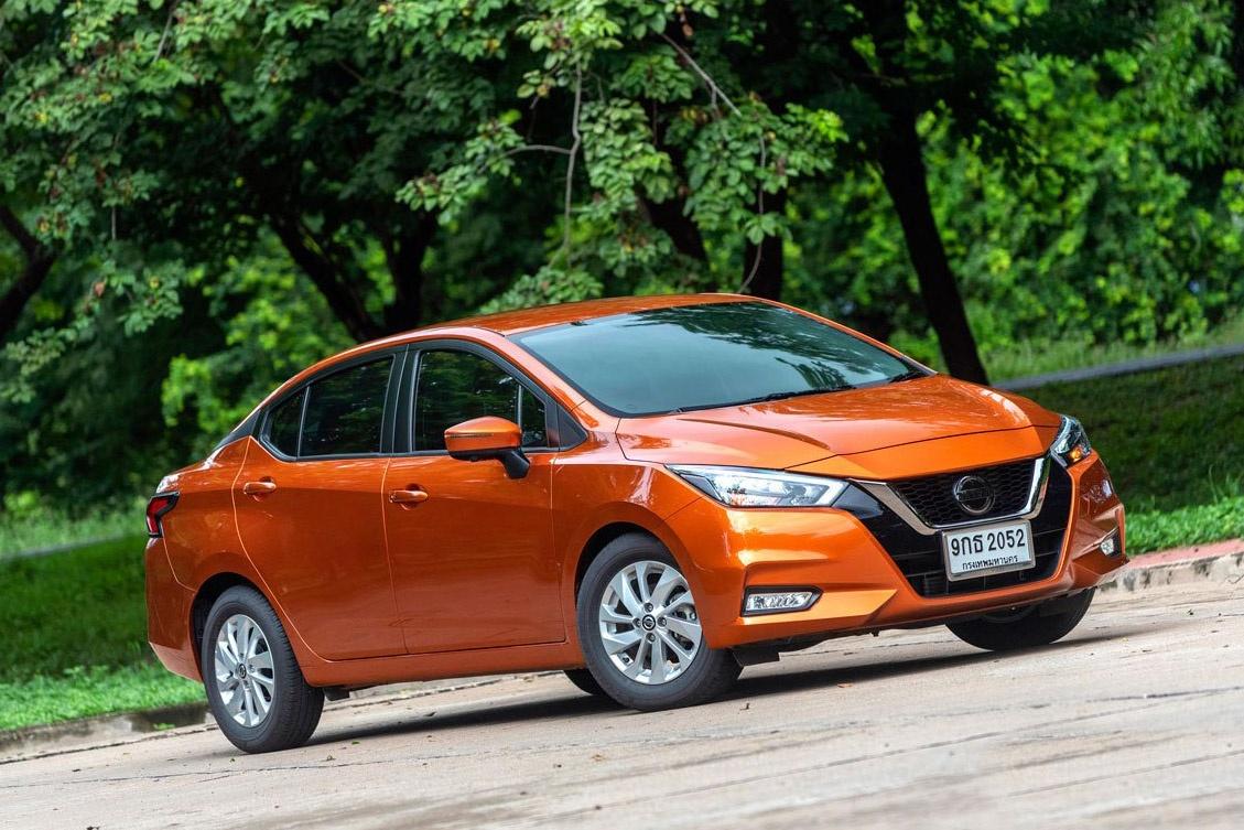 Danh gia Nissan Almera VL anh 1