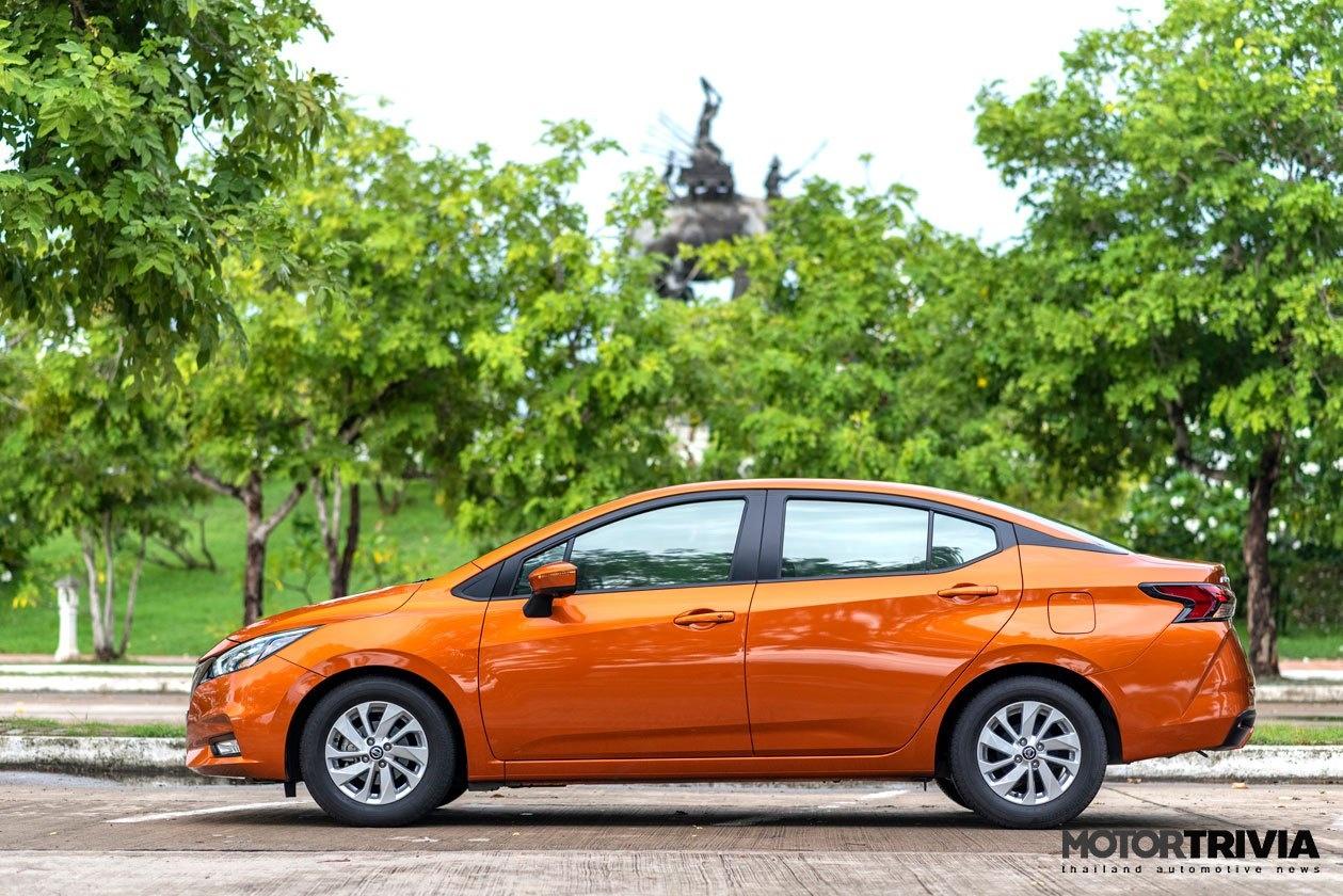 Danh gia Nissan Almera VL anh 4