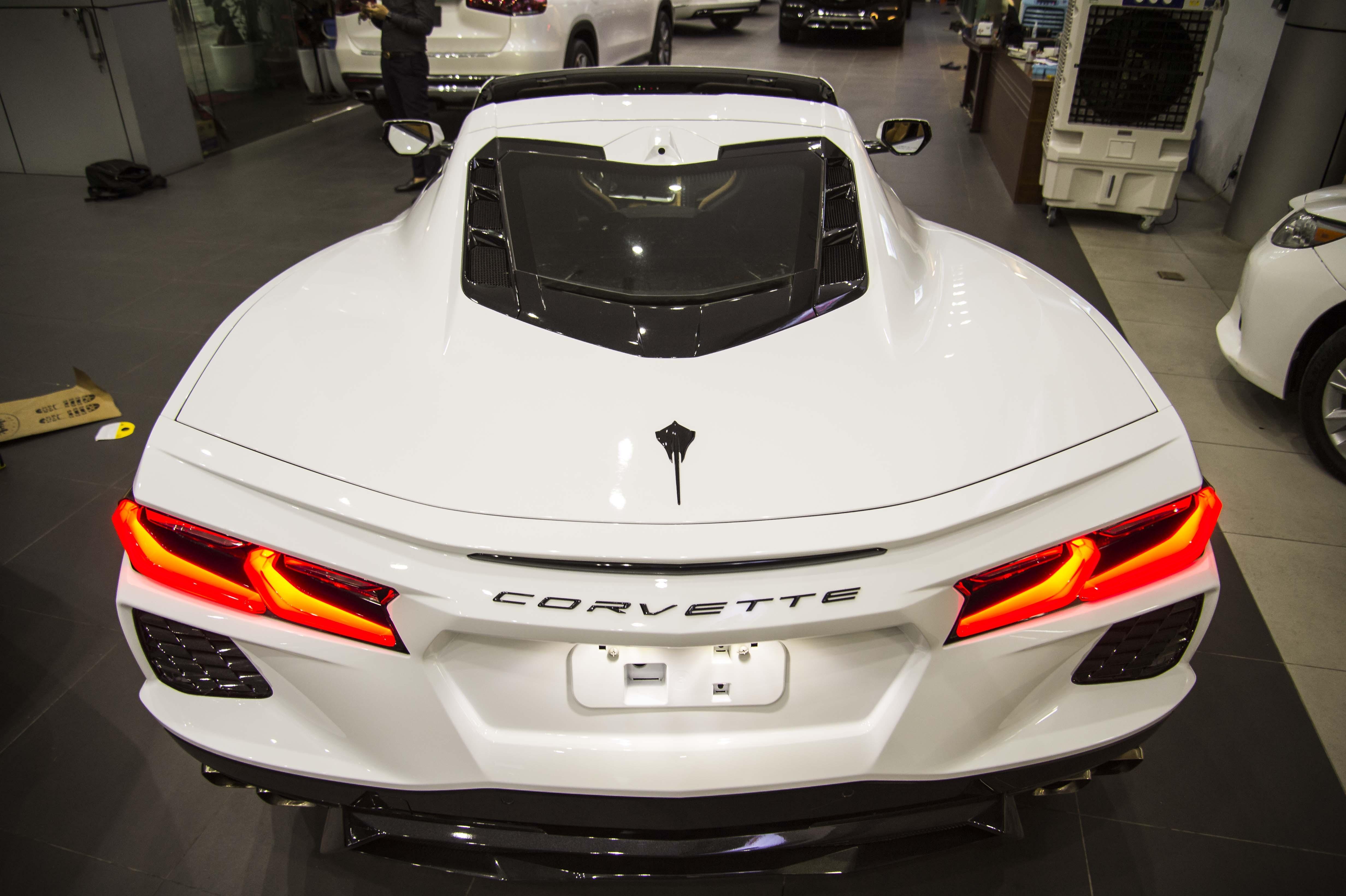 Chi tiet Chevrolet Corvette C8 dau tien tai Viet Nam anh 39