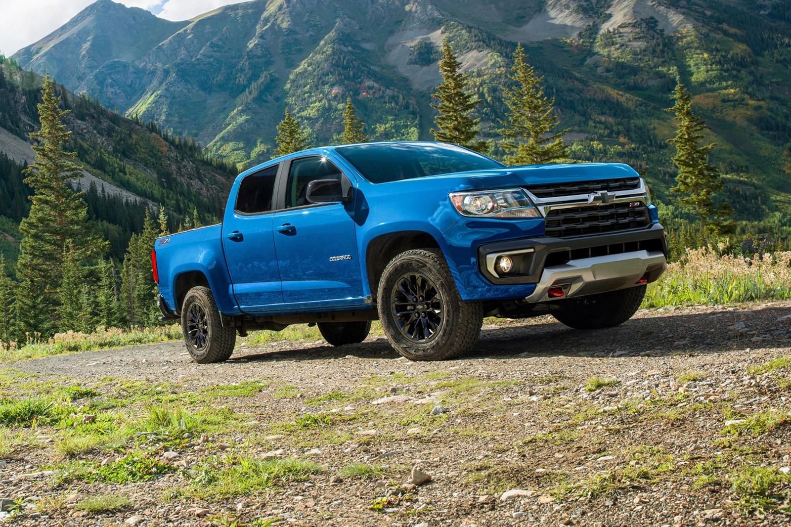 Chevrolet Colorado Trail Boss ra mat anh 2