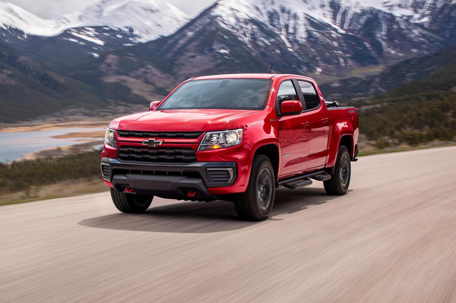 Chevrolet Colorado Trail Boss ra mat anh 3